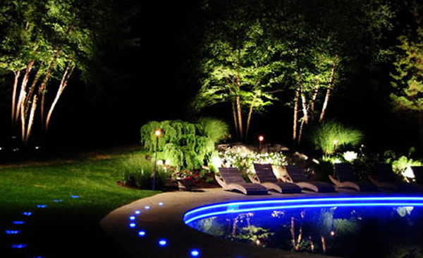 Garden Lighting Ideas : Modern Outdoor Lighting  Modern Outdoor Lighting