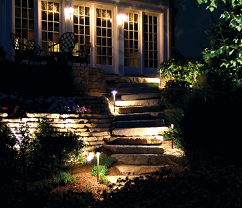 modern lighting outdoor