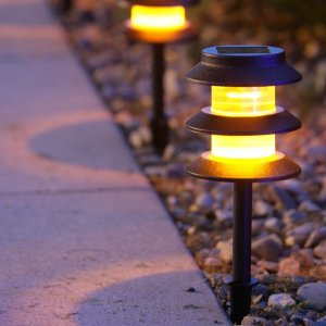 solar patio lighting
